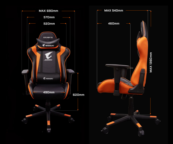 AORUS AGC300 - GAMERS NATION - gaming chairs india