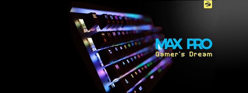Zebronics Max Pro Keyboard - Gamer's Dream