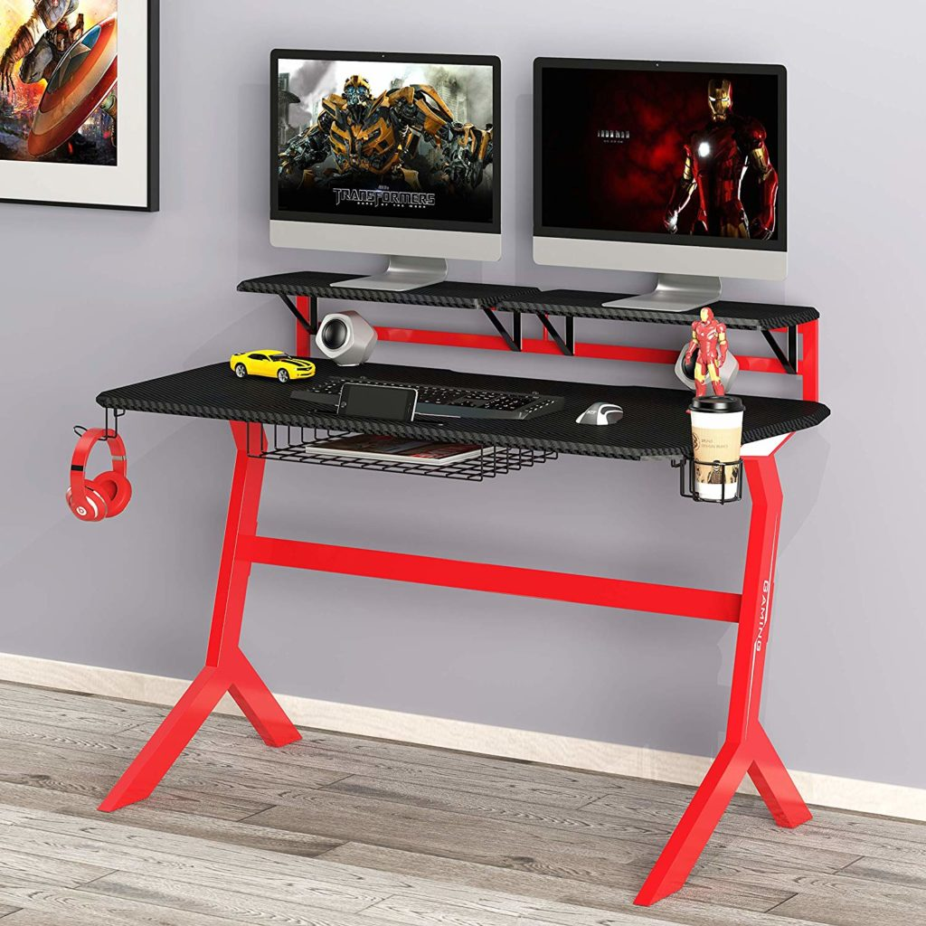 green soul gaming desk_gamers nation